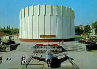 Building of diorama 'Battle for Dnieper'